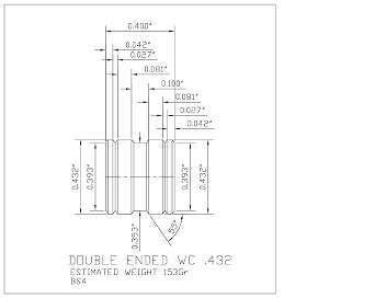 432-153-DWC-BS4 4 Cavity PB